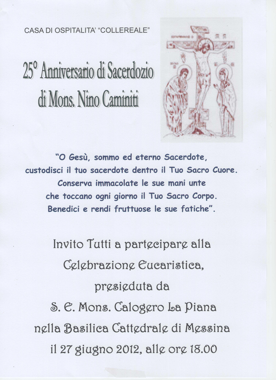 25 Mons. Caminiti